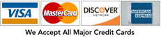 accepted credit card
