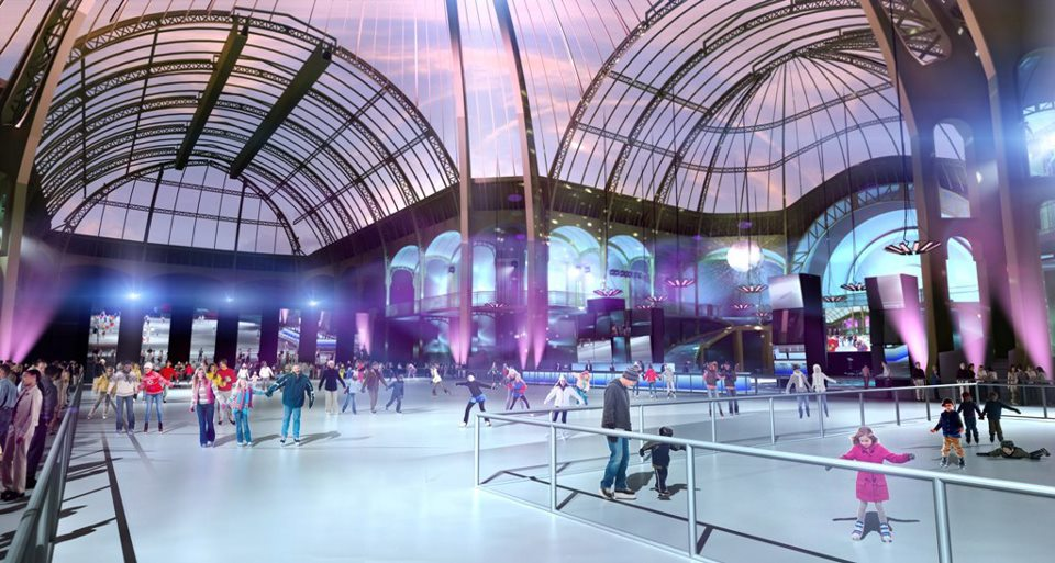 ice rink paris